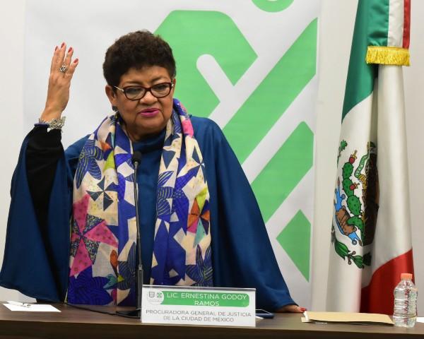 Hace una semana Godoy informó sobre mesas de diálogo con grupos feministas. Foto: Cuartoscuro