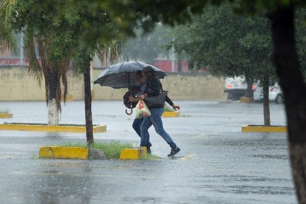 Lluvias en la mayor parte del territorio mexicano. FOTO:CUARTOSCURO