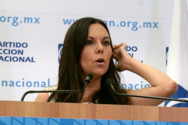 Laura Rojas ya había sido rechazada por el Congreso para presidir la Mesa Directiva de la Cámara Baja.  Foto: Cuartoscuro