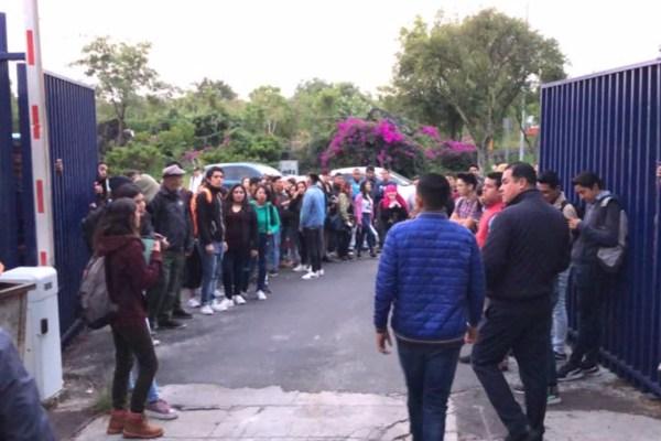 FOTO:ESPECIAL Cierran la Facultad de Ciencias Políticas de la UNAM