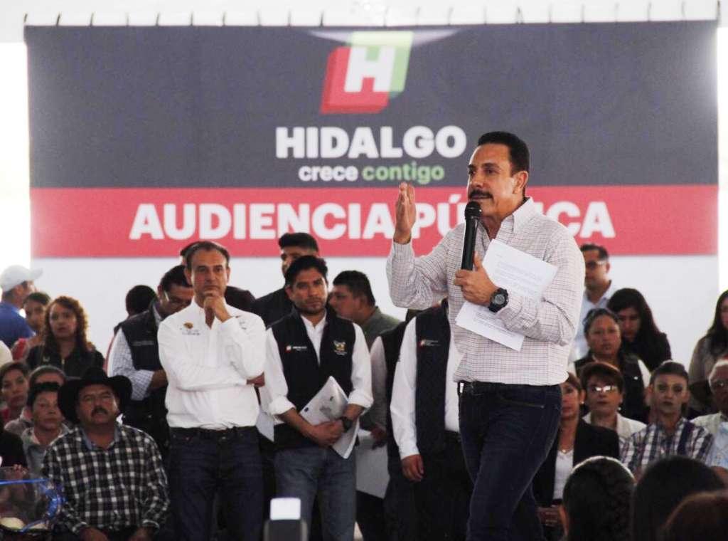Omar Fayad tercer informe del gobierno de Hidalgo