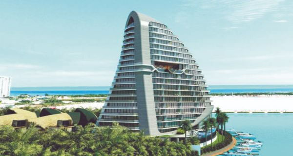 SHARK TOWER. Tiene seis mansiones y, al menos, 134 departamentos. Foto: Especial.