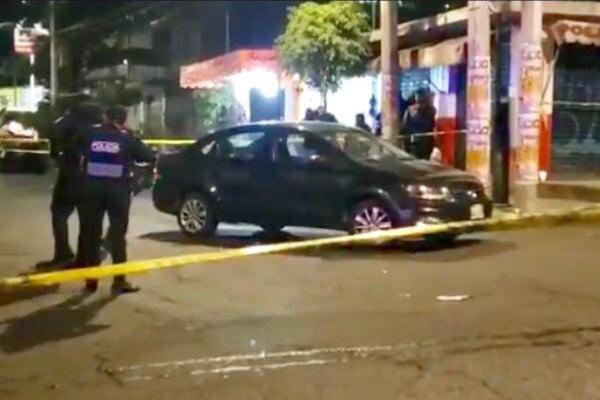 Asesinan a un hombre en una taquería de Tlalpan_ VIDEO
