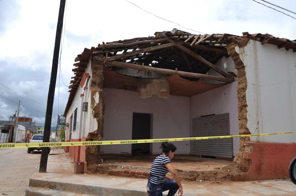 Chiapas tiene un 30% de avances en reconstrucción tras sismo