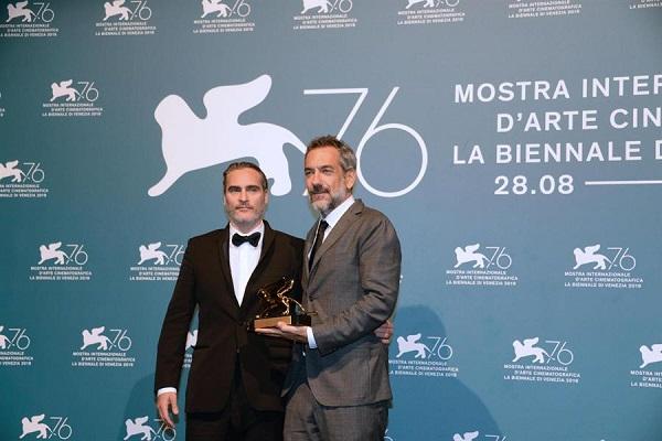 El Joker de Todd Phillips y Joaquin Phoenix ha ganado el León de Oro en el Festival de Venecia. Foto: EFE