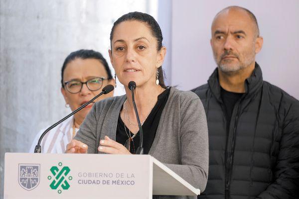 Claudia Sheinbaum dijo que la delincuencia no opera donde hay actividades públicas. Foto: Cuartoscuro