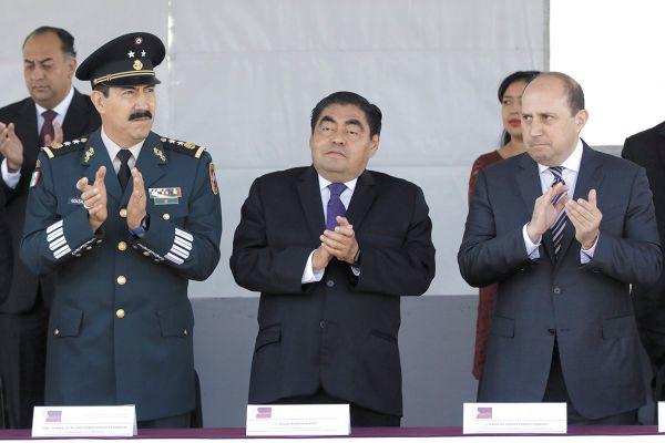 El mandatario encabezó el aniversario luctuoso del general Ignacio Zaragoza. Foto: Enfoque