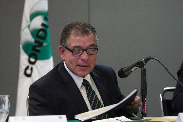 Mario di Costanzo, ex titular de la Comisión Nacional para la Protección y Defensa de los Usuarios de Servicios Financieros (Condusef) FOTO: MOISÉS PABLO /CUARTOSCURO.COM
