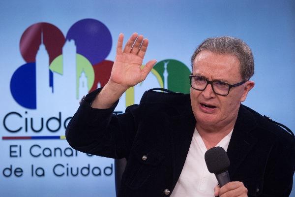 El periodista Ricardo Rocha, director del canal de televisión del Congreso de la Ciudad de México FOTO: MOISÉS PABLO /CUARTOSCURO.COM