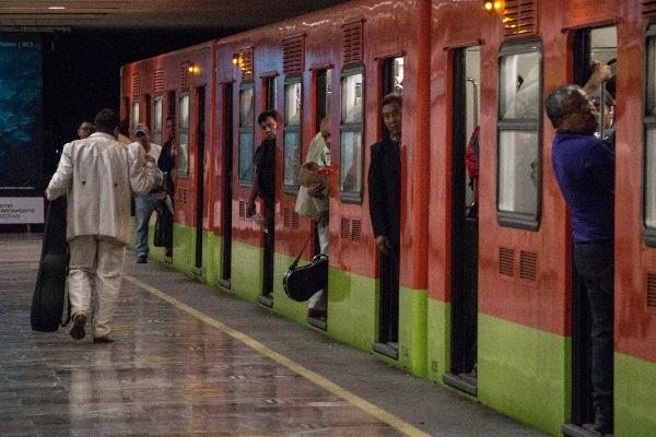 Instalaciones del Sistema de Transporte Colectivo Metro FOTO: ANDREA MURCIA /CUARTOSCURO.COM