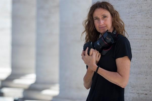 Maria Grazia Picciarella afirma que su pasión y cercanía hacía el Vaticano surgió gracias a su abuela. Foto: Pablo Esparza