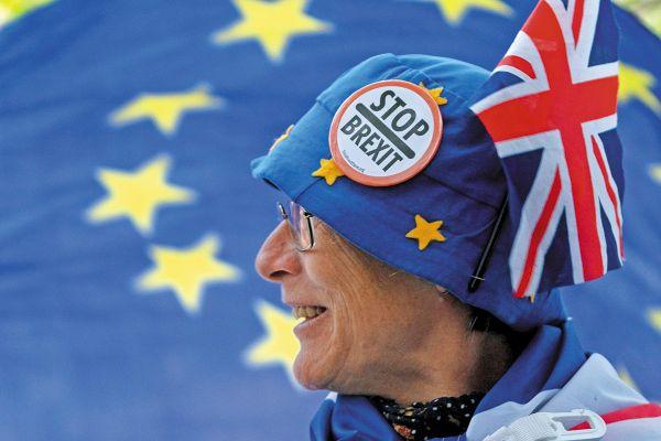 Miles de personas se han sumado al rechazo de un Brexit. Foto: EFE