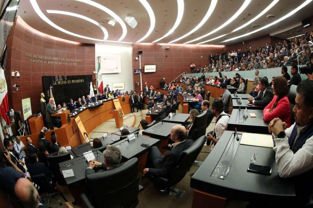 La propuesta fue presentada por el Senador Alejandro Armenta Mier, del Grupo Parlamentario del Partido Morena. Foto: Especial