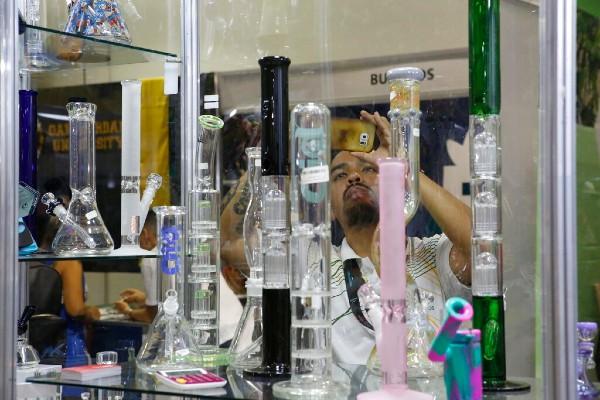 FERIA. El pasado 31 de agosto, se llevó a cabo una exposición en México sobre las investigaciones de la cannabis. Foto: AP