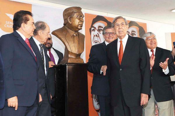Cuauhtémoc Cárdenas fue uno de los fundadores de la Corriente Democrática dentro del PRI. Foto: CUARTOSCURO
