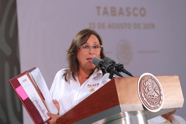 Rocío Nahle, secretaria de Energía FOTO:CUARTOSCURO