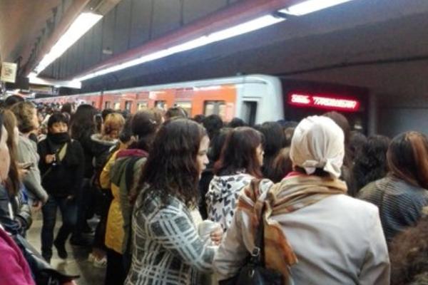 Reportan altas concentraciones en estaciones como Tacubaya. Foto: Especial