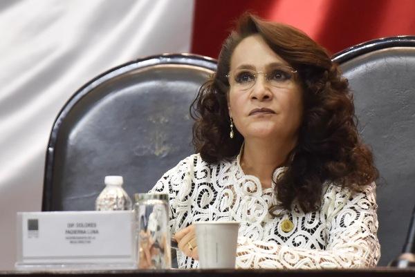 La diputada de Morena y vicepresidenta de la Cámara de Diputados, Dolores Padierna FOTO:CUARTOSCURO