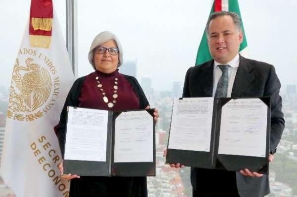 Graciela Márquez Colín, secretaria de Economía, y Santiago Nieto Castillo, titular de la Unidad de Inteligencia Financiera (UIF). Foto: Cuartoscuro