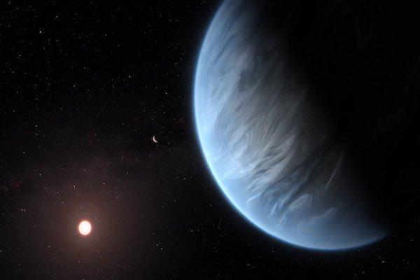 planeta_vapor_agua_k2_18b-cientificos-habitable-hubble