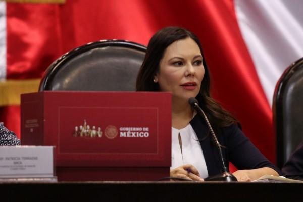 Laura Rojas, presidenta de la Cámara de Diputados. Foto: Cuartoscuro