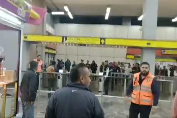 Metro_Pantitlán_Línea_5