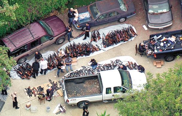 SIGILO. Las armas son compradas legalmente en EU y luego revendidas en el mercado negro. Foto: AP
