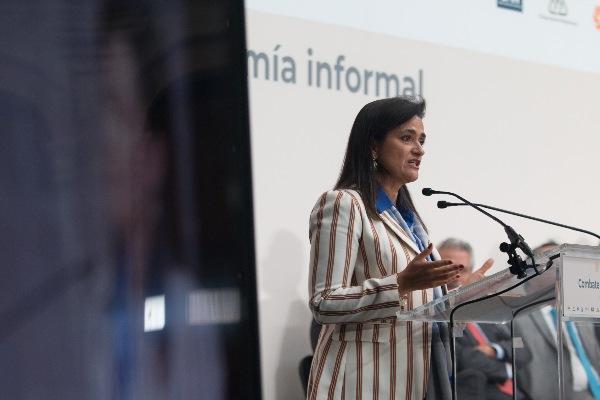 Margarita Ríos-Farjat, titular del Servicio de Administración Tributaria (SAT). FOTO: CUARTOSCURO