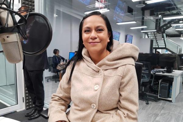 Ariadna Montiel, subsecretaria del Bienestar en cabina con Sergio y Lupita