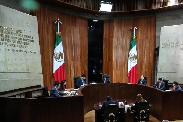 Sesión del Tribunal Electoral del Poder Judicial de la Federación. Foto: Cuartoscuro