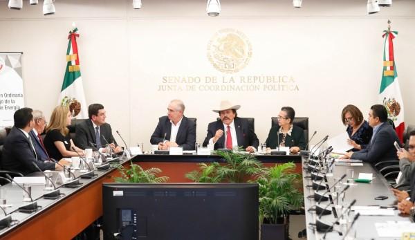 Xóchitl Gálvez, senadora del PAN, afirma que Rafael Espino cumple con los requisitos para ser el Consejero. Foto: Especial
