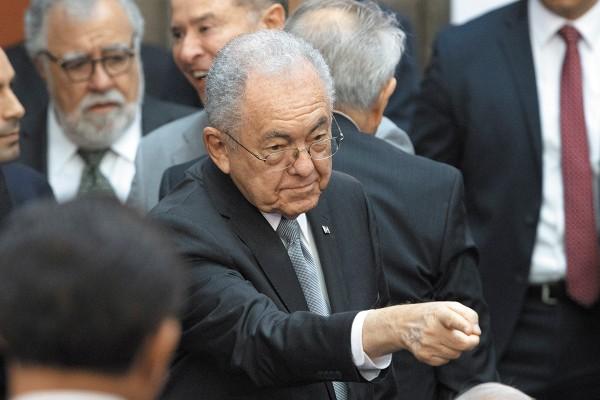 VISIÓN. Javier Jiménez Espriú, titular de la SCT, destacó el gasto para las autopistas. Foto: Cuartoscuro