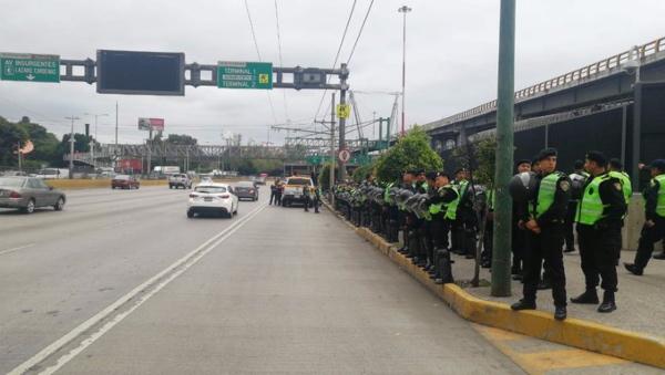 Policías_CDMX_accesos_Aeropuerto