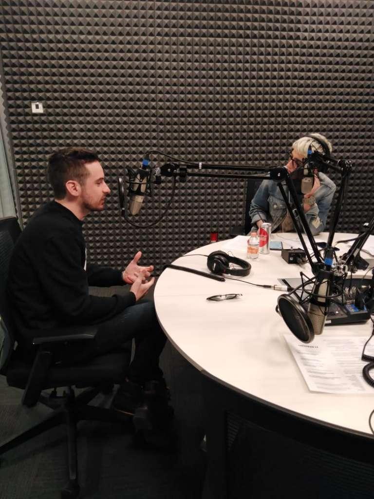 Jesús Zavala en entrevista con Maca Carriedo