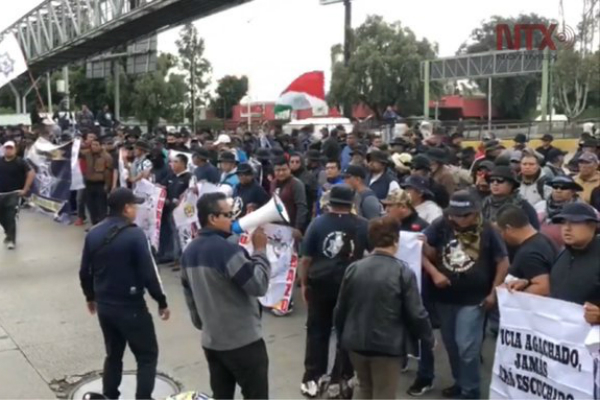 policia federal bloqueo circuito interior