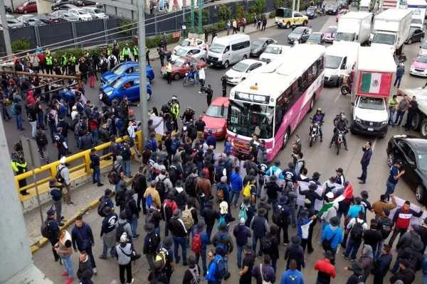 alternativas_viales_manifestación_policías