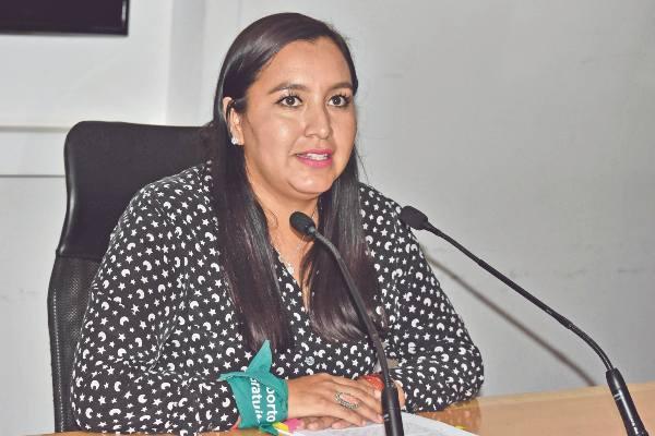 ANUNCIO. La diputada Estefanía Rodríguez presentó la convocatoria el 22 de agosto. Foto: ENFOQUE