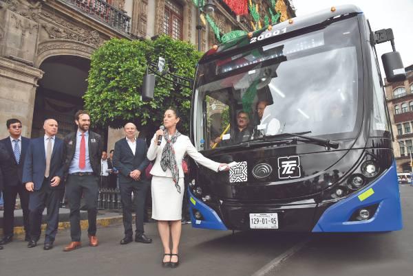 63 nuevos camiones tendrá el trolebús. Foto: CUARTOSCURO