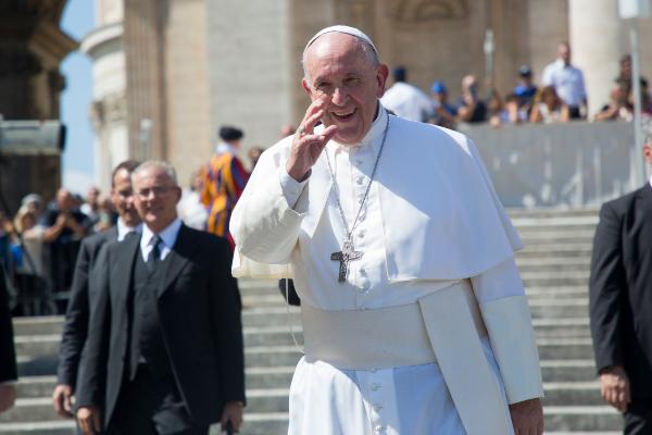 Papa Francisco dice que siempre hay un futuro de esperanza. Foto: Pablo Esparza
