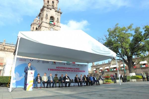 El evento tuvo lugar en la Plaza Melchor Ocampo del Centro Histórico. Foto: Especial