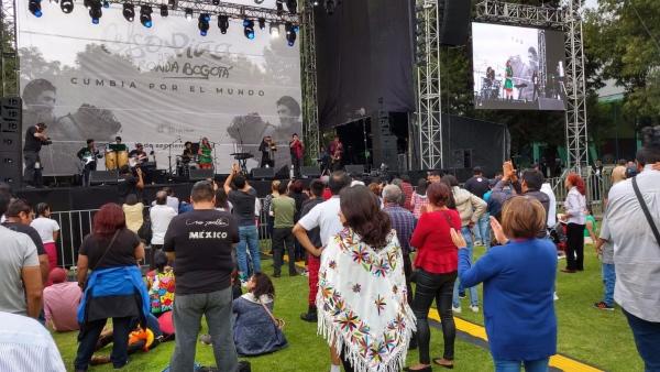 Se espera la presentación en el escenario de La Ronda Bogotá. FOTOS: Gerardo Suárez