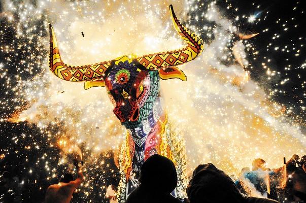Los toritos son una tradición en varios municipios. Foto: Cuartoscuro