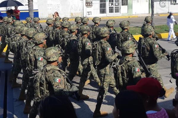 La presencia de la Guardia Nacional busca brindar mayor tranquilidad a los ciudadanos. Foto: Especial