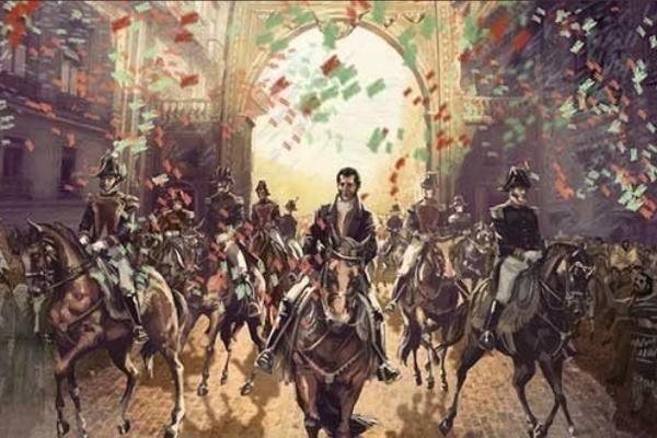 independencia, mito, Agustín de Iturbide, Hugo Corzo,