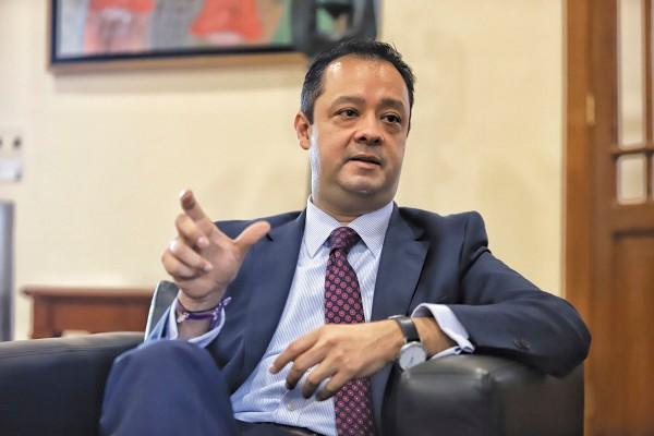 Gabriel Yorio, subsecretario de la SHCP. Foto: Víctor Gahbler