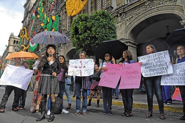 PRESIÓN. Las organizaciones exigen que el gobierno acate la resolución del juez. Foto: Leslie Pérez