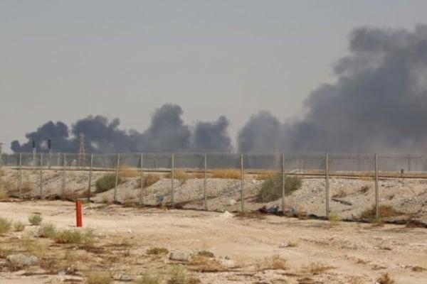FOTO: GETTY IMAGES Planta de la estatal Aramco de Abqaiq