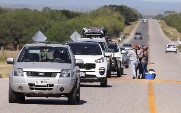En este periodo 33,600 vehículos recorrieron los diferentes destinos turísticos del estado. Foto: Especial
