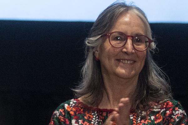 Julieta Fierro Gossman, divulgadora de la ciencia e Investigador Titular, de tiempo completo, del Instituto de Astronomía de la UNAM FOTO: ISAAC ESQUIVEL /CUARTOSCURO.COM