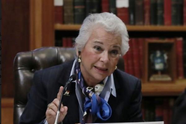 Secretaria de Gobernación, Olga Sánchez Cordero. Foto: Cuartoscuro